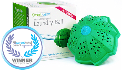 SmartKlean-Laundry-Ball Non-Detergent Laundry Ball