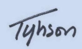 tyhsonsig